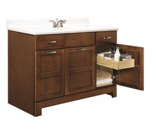 Simple  u Double Sink Bathroom Vanity Set This post includes trendy stylish and fun bathroom vanities of many different sizes