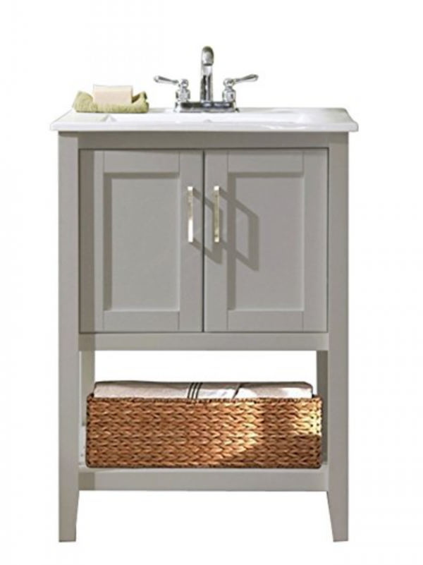 Inspirational This post includes trendy stylish and fun bathroom vanities of many different sizes