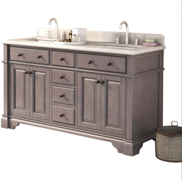 Inspirational This post includes trendy stylish and fun bathroom vanities of many different sizes Casanova u Double Vanity Set