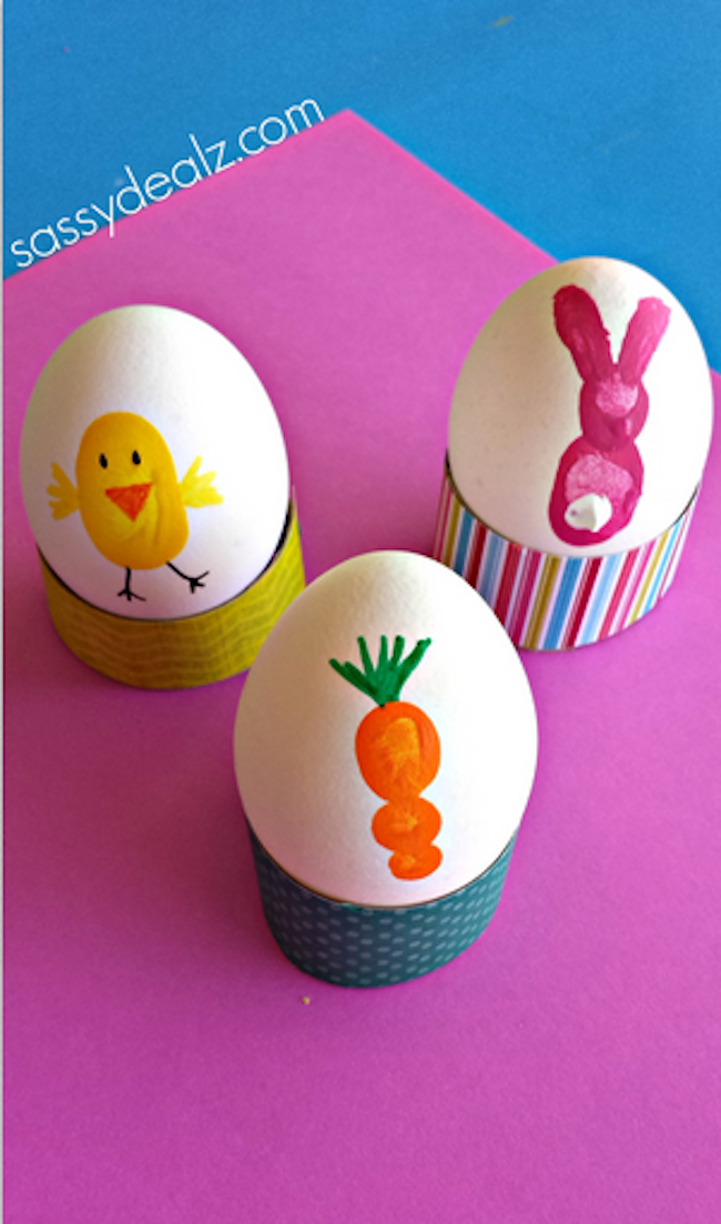 "18 ""egg-cellent"" Easter egg decorating ideas that are absolutely creative and fun! Many of these ideas you probably have the supplies for right now. 