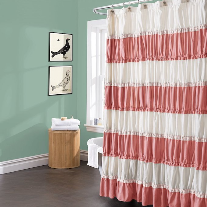 All 20 of these shower curtains are not only gorgeous but trendy too! You will find many different styles of shower curtains to fit anyones decor needs.   Design Dazzle