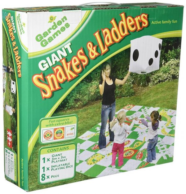 You can easily take an outdoor party from drab to fab with these 20 hilarious giant-sized adult and kids outdoor toys!   Design Dazzle