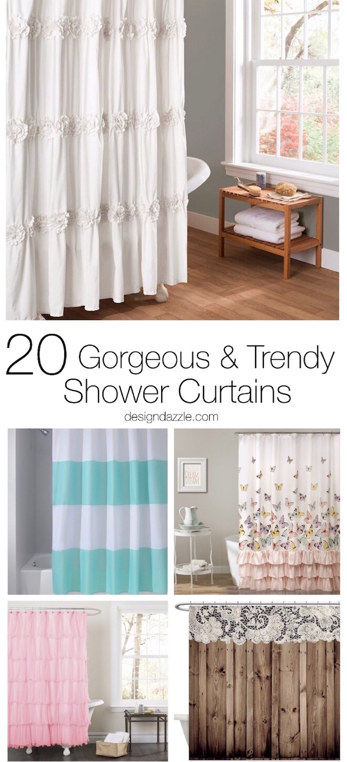 All 20 Of These Shower Curtains Are Not Only Gorgeous But Trendy Too You Will