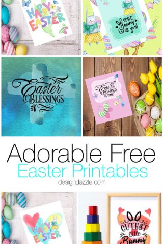 Adorable Free Easter Printables