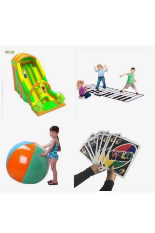 20 Hilarious Giant-Sized Adult & Kids Outdoor Toys