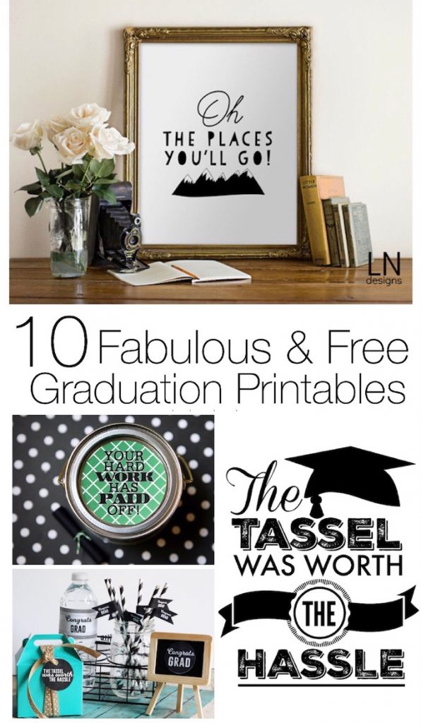 Fabulous & Free Graduation Printables