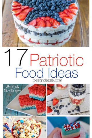 17 Patriotic Food Ideas