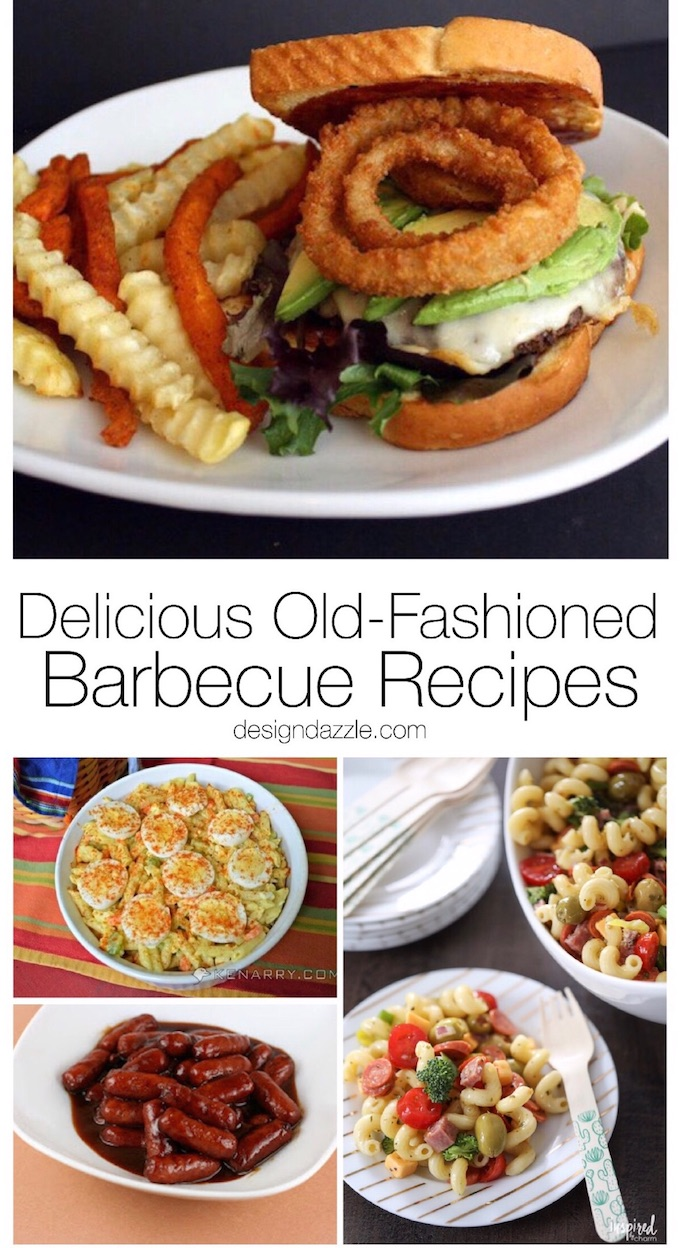 11 different delicious old fashioned barbecue recipes for you to wow your guests with at all of your parties this summer! | Design Dazzle