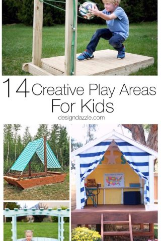 14 Creative Play Areas For Kids