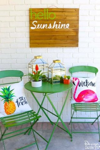 Hello Sunshine Summer Decor
