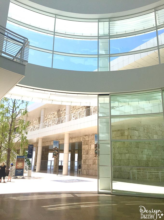 Find my complete guide to visiting The Getty at Design Dazzle