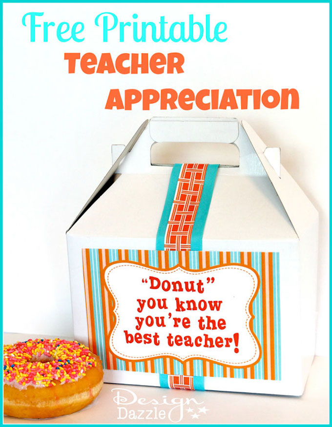 I've put together 14 phenomenal and easy teacher appreciation gift ideas that will show your child's teacher just how much they meant to you! | Design Dazzle