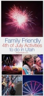 Family Friendly 4th of July Activities to do in Utah