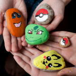 Pokemon Painted Rocks for Kindness Rocks!