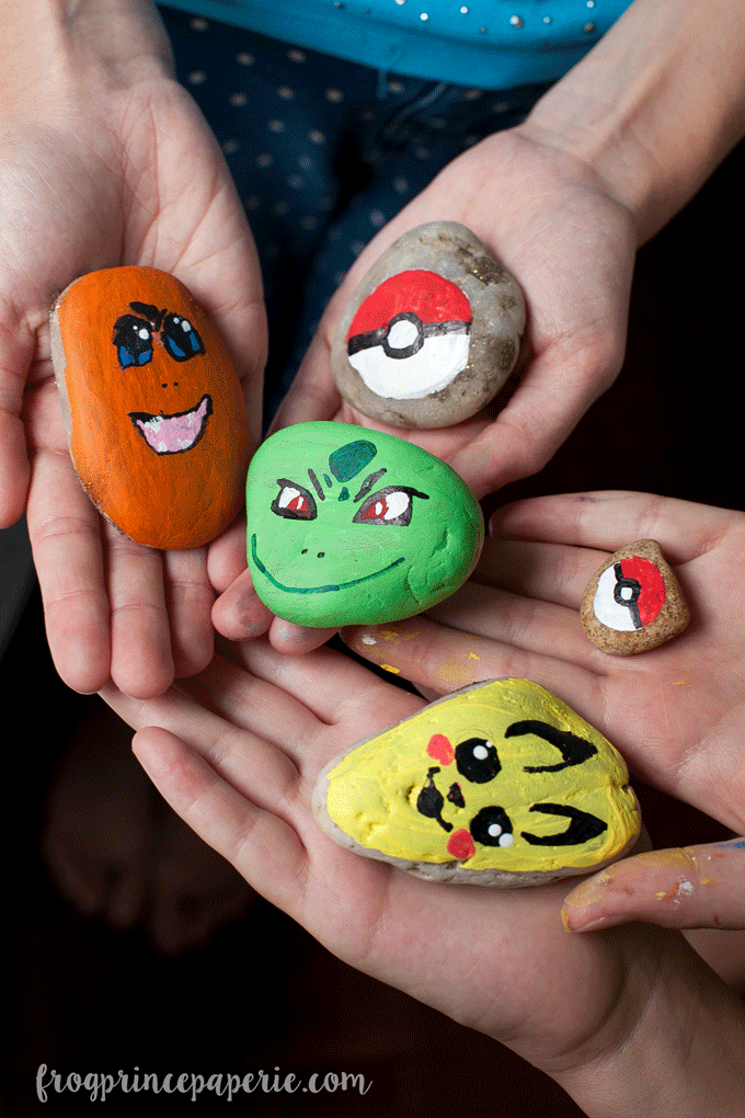 Pokemon Painted Rocks For Kindness Rocks Design Dazzle