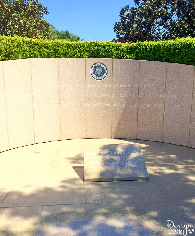 DesignDazzle visits the Ronald Reagan Presidential Library!