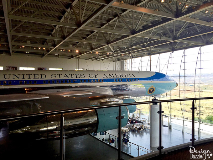 Come along with DesignDazzle to see the best parts of The Ronald Reagan Presidential Library!
