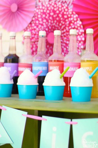 How to make shaved ice - tips and tricks | Design Dazzle