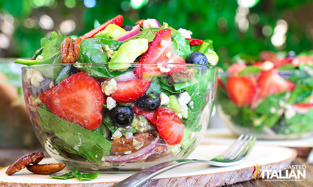 Here are 12 fantastic salads that are perfect for summer! They will leave you full, happy, and not overheated from standing over the stove all day. | Design Dazzle