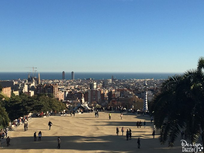 Traveling to Barcelona - Park Guell