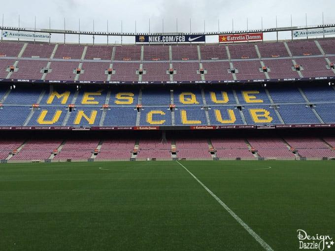 Traveling to Barcelona - Camp Nou