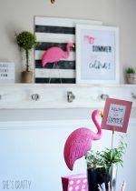 Summer Celebration:  Family Friendly Flamingo party