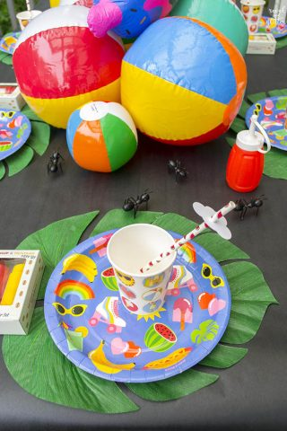 Summertime Fun Party Table