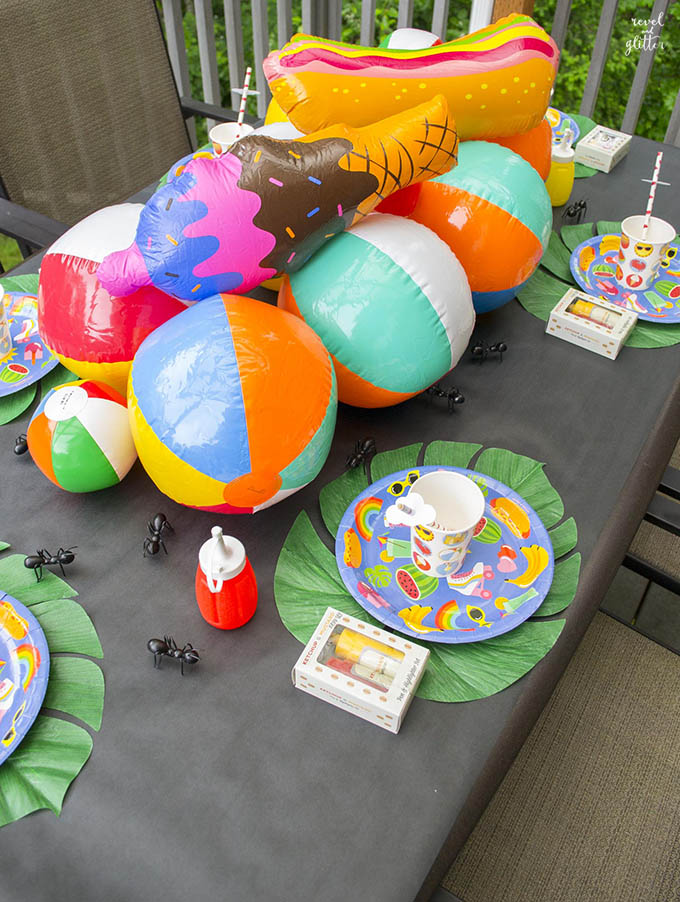 Get ready for summertime fun with the perfect table; side