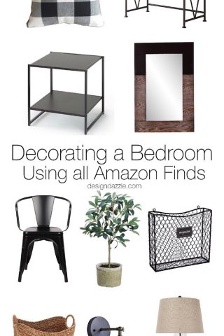 Bedroom Decorating: Using Amazon Finds- Part 5
