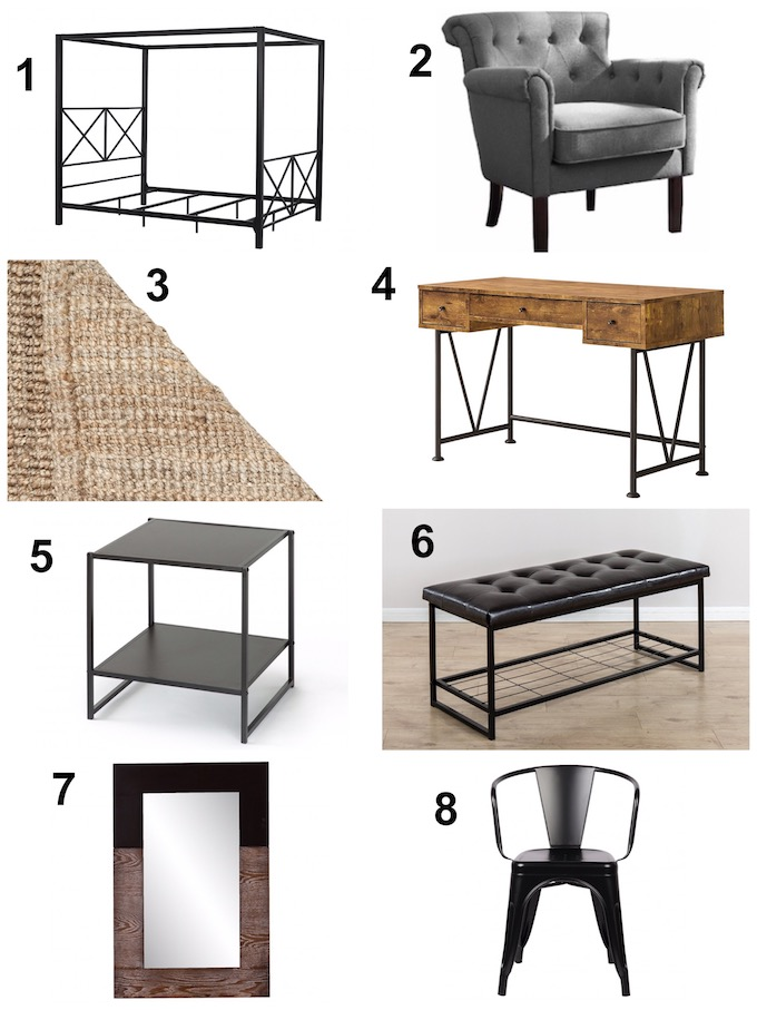 Just about everything in this room can be found on Amazon. If you're looking to re-do your decor and furniture on a budget, this post is for you!   Design Dazzle