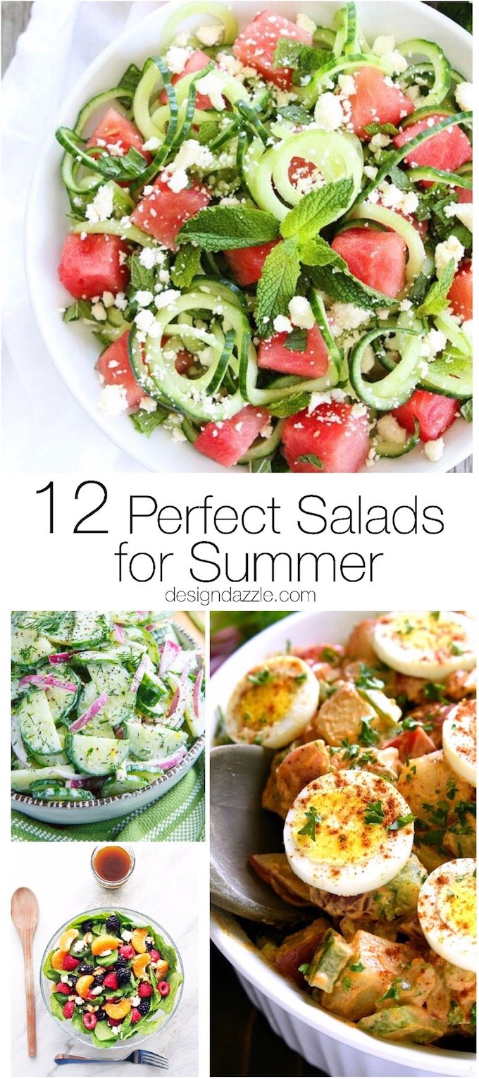 12 Perfect Salads For Summer