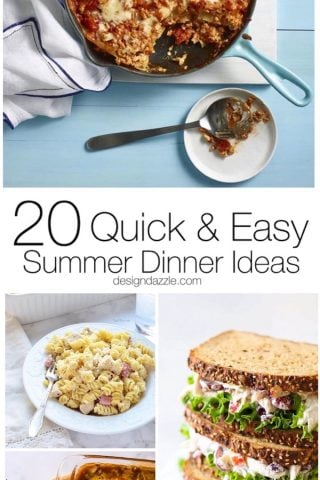 Quick and Easy Summer Dinner Ideas