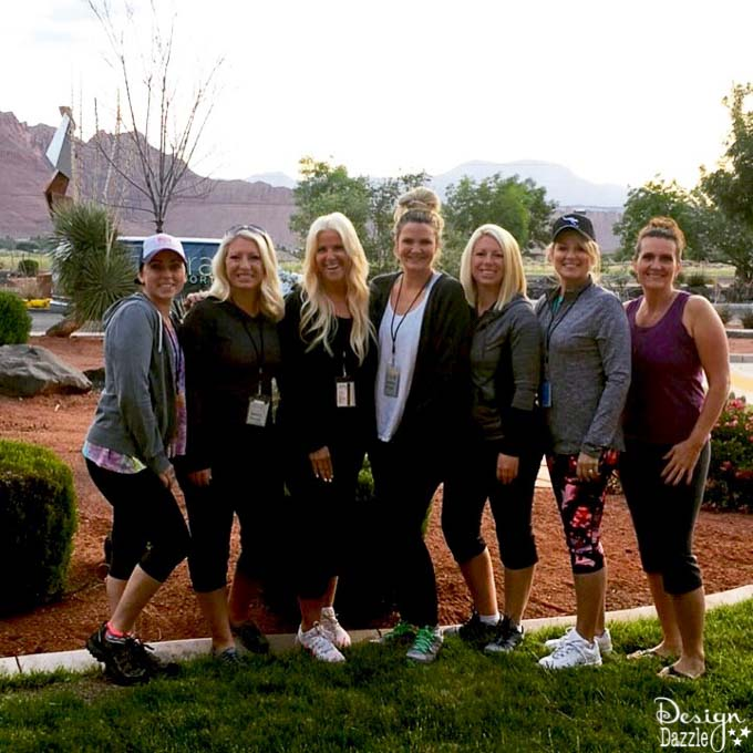 Have you been dying to go on a fitness retreat? This post has all the details about my weekend at the Movara Fitness Resort in Utah! | Design Dazzle