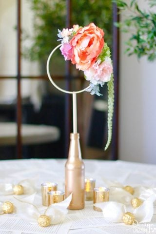 Harry Potter Quidditch Bridal Shower Centerpiece