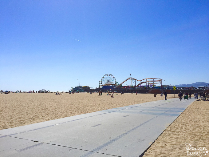 Venice Beach is all about the people watching and the sight seeing! Follow along with DesignDazzle.