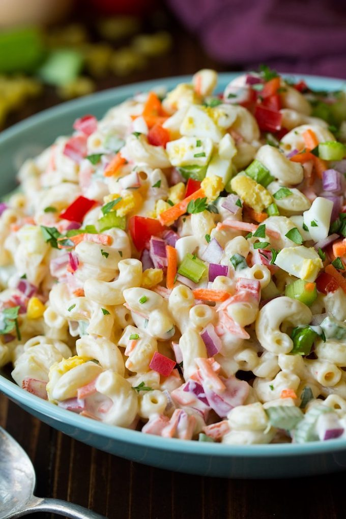 Here are 12 fantastic salads that are perfect for summer! They will leave you full, happy, and not overheated from standing over the stove all day.   Design Dazzle