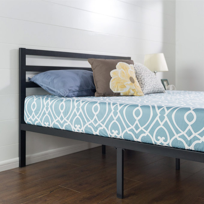 Simple Look no further for a gorgeous and inexpensive bed because I uve already done for