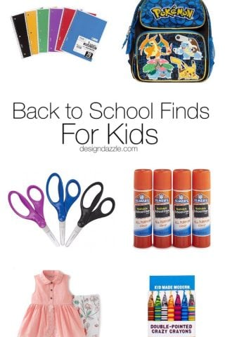 Back to School Finds for Kids