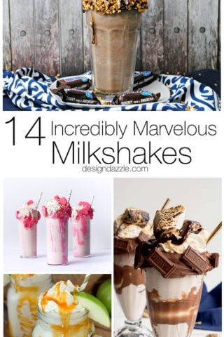 14 Incredibly Marvelous Milkshakes
