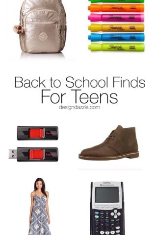 Back to School Finds for Teens