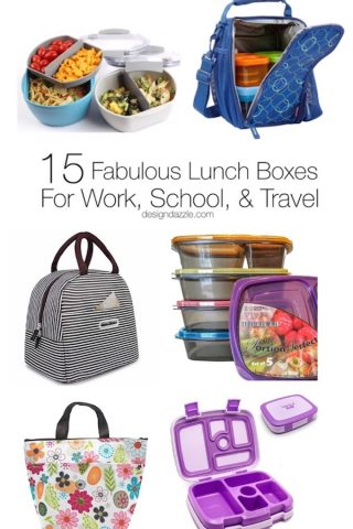 15 Fabulous Lunch Boxes For Work, School, and Travel