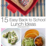 Easy Back to School Lunch Ideas