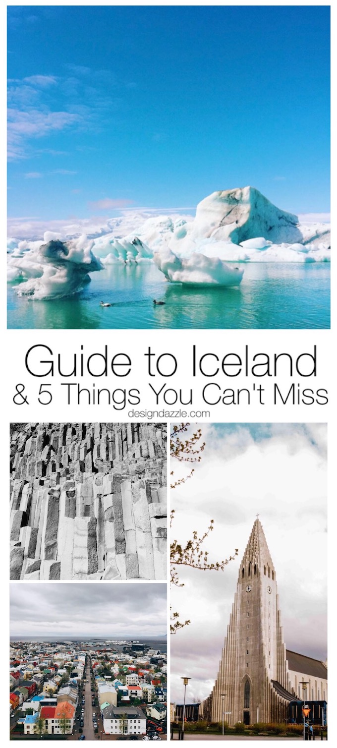 Why go to Iceland? After seeing the unique landscapes and out-of-this-world scenery that Iceland has to offer, there's no reason not to choose Iceland! | Design Dazzle