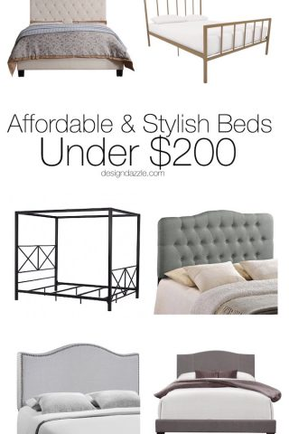 Affordable & Stylish Beds Under $200