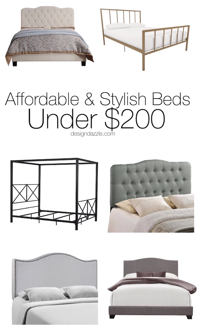 Affordable & Stylish Beds Under $200