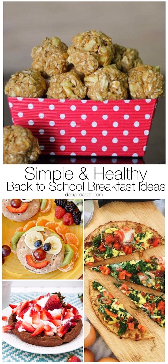 I've round up 20 of my very favorite, kid friendly, healthy recipes. But they aren't just healthy, they are also simple and easy to put together! | Design Dazzle