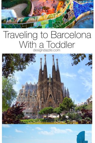 Traveling to Barcelona {with a toddler}