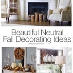 14 Beautiful Neutral Fall Decorating Ideas