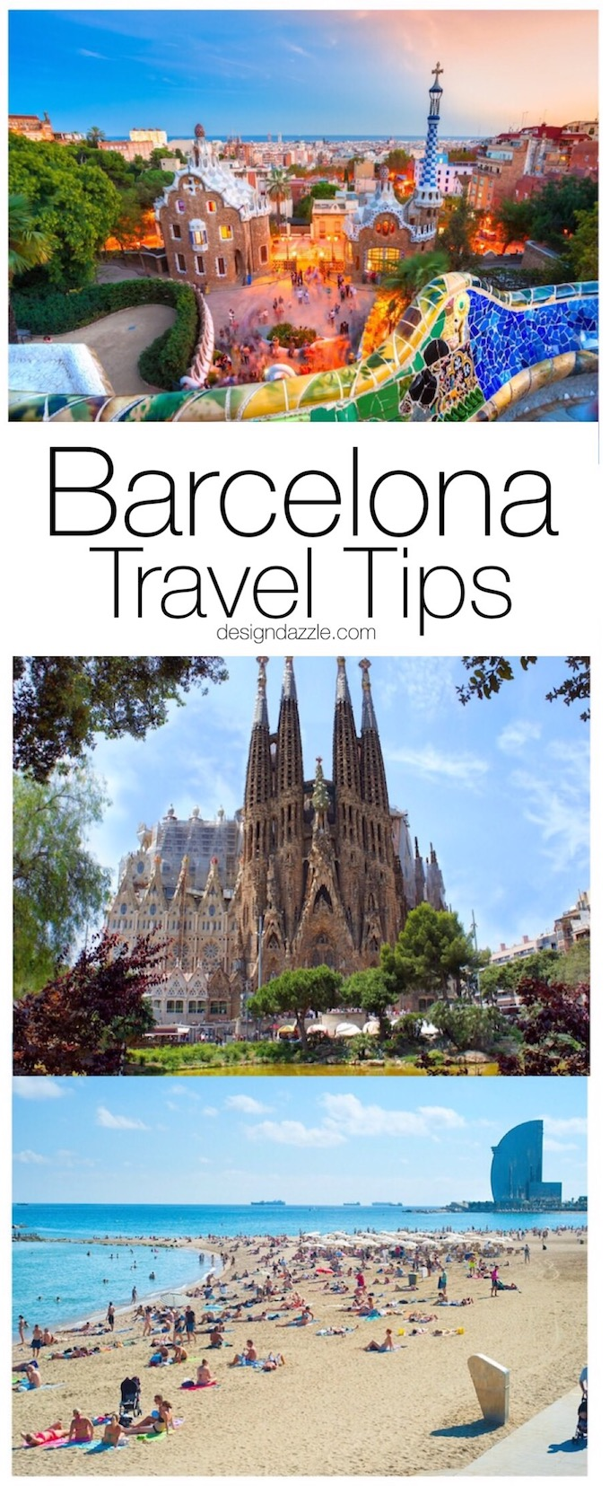 Traveling to Barcelona with a toddler can be both amazing and challenging. Here are some tips and suggestions to help make your trip to Barcelona memorable! | Design Dazzle