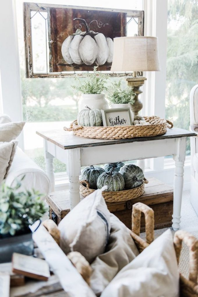 30 Beautiful And Cozy Fall Dining Room Décor Ideas: 14 Beautiful Neutral Fall Decorating Ideas